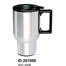 Sdc400b Stainless Steel Vacuum Double Wall Auto Car Mugs