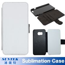 Sublimation Blank Leather Flip Mobile Phone Cover Case