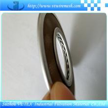 Disque de filtre d'acier inoxydable utilisé pour tamiser