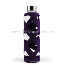 New Business Ideas Promotional Gift Portable Reuse Large Glass Bottle Water