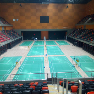 BWF Internation Elite Tapete de Badminton