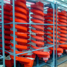 Screw Chute Separator Machine For Alluvial Gold Recovery