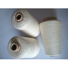 Viscose Wool Blanched Yarn Raw White
