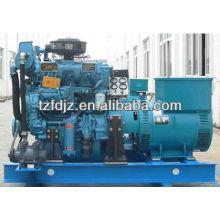 CCS, BV approuvé 125kva Weichai générateur marin de puissance