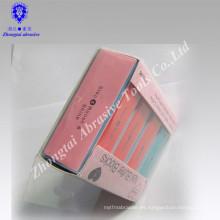 Bloque de tampón de lijado de esmalte de uñas de tipo abrasivo