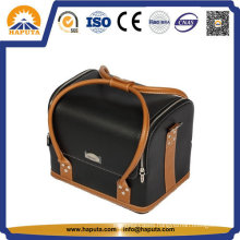 Fashion Ladies Leather Toiletry Bag with Handle (HB-6651)