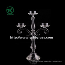 Glass Candle Holder with Three Posters by SGS
