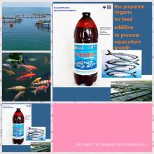 Algenfutterzusatz für die Aquakultur