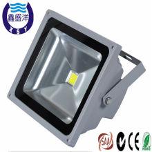 La luz llevada ip65 SAA / CE / ROHS de la impulsión del conductor del MW aprobó la viruta 50w de bridgelux de la alta calidad llevó la luz de inundación