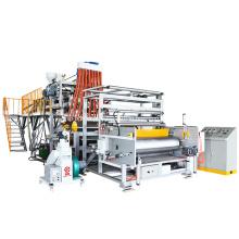 Linha de maquinaria do filme extensível do rolo LLDPE de 1500mm