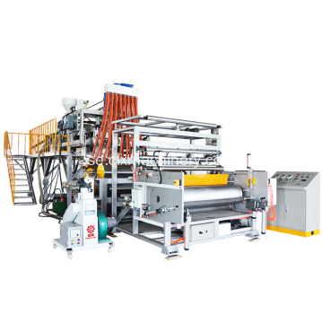 1500mm Big Roll LLDPE Stretch Film Machinery Line