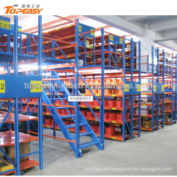 Multi-layer loft type shelves mezzanine bulk storage racks shelving