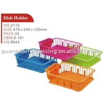 dish holder with tray