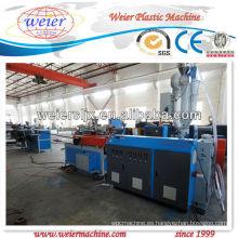 Maquinaria plástica de la máquina de la protuberancia del tubo acanalado del PE PP PA