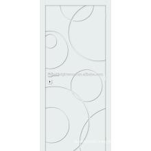 Popular MDF fancy interior doors of modern design