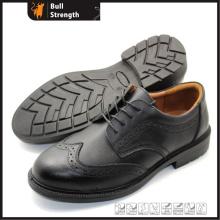 Unité centrale Outsole travail officiel chaussure avec Action en cuir (SN5455)