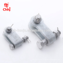 UB hot dip galvanized steel clevis yoke for for overhead line fitting association