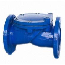 Válvula de retención de disco revestida de goma