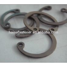 Din6799 din471 din472 m8 anillo de acero, circlip personalizado circlips externos