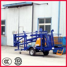 hydraulic towable articulating boom lift
