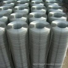 Treillis métallique soudé en rouleaux