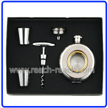 Whisky Flask Sets, Stainless Steel Hip Flask (R-HF049)