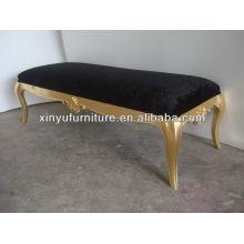Rectangular wooden living room sofa A102