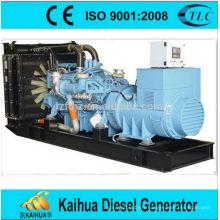 Groupe électrogène diesel de type 1750KVA MTU de protection de l'environnement