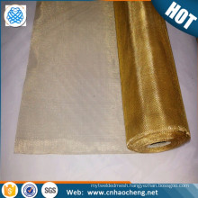 Faraday cage brass mesh screen 200 mesh brass shielding wire filter cloth