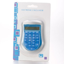 Blue Mini Calculator