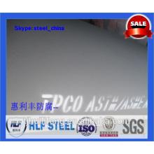 Tuyau en acier recouvert d'apprêt époxy riche en zinc 007