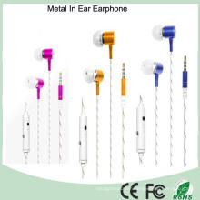 Promotional 3.5mm Stereo Metal in Ear Earphone (K-913)
