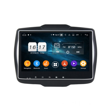 Klyde dsp android head unit cho Renegade 2016
