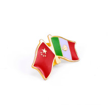 Combination of Australia and Hongkong Flags Badge (GZHY-LP-022)