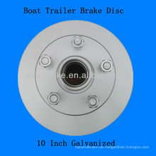 Boat Trailer Brake Hub Disc verzinkt 10 Zoll