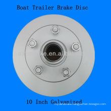 Boat Trailer Brake Hub Disc Galvanized 10 Inch