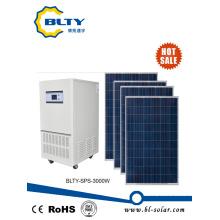 3kw del sistema de energía solar de la rejilla