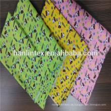 Polyester Baumwolle gemischte Flanell Stoff / bunt gefärbt Flanell Stoff / 32 * 12dyed Flanell Stoff für Tuch
