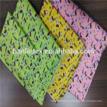 Полиэфирная хлопчатобумажная смешанная фланелевая ткань / красочная окрашенная фланелевая ткань / 32 * 12дюйм фланелевая ткань для ткани