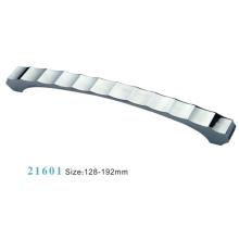 Liga de zinco móveis ferragem puxar alça de gabinete (21601)