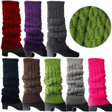 Chaussettes de bottes Chaussettes de bain à pied à genou haute hauteur (15002)