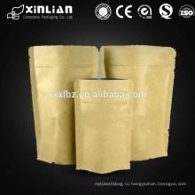 Мешок алюминиевой фольги бумажный / мешок алюминиевой фольги с застежкой -молнией