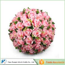 60cm ou en tant que votre besoin Boules en plastique de baiser, vente en gros de fleurs artificielles