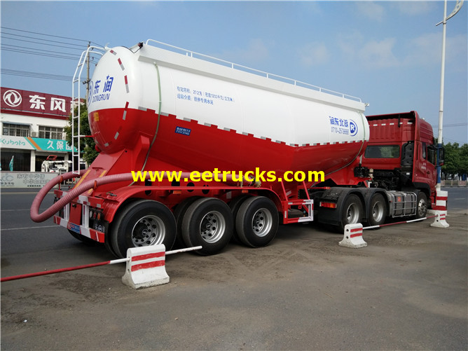 3 axles Cement Tanker Trailers