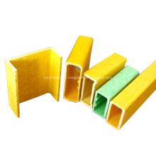 Tubo de fibra hueca de material compuesto reforzado de plástico para mango