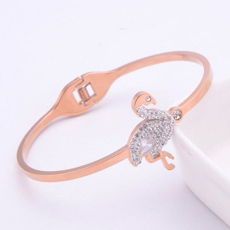 Simple Rose Gold Bracelet