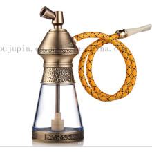 OEM Logo Print Classical Metal Smoking Pipe Shisha Hookah