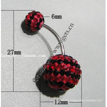 Gets.com crystallized belly ring body