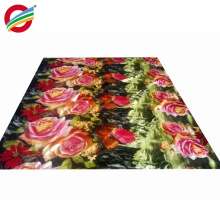 wholesale Cheap 100% polyester home textile bright colors fabric