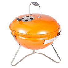 Цветной фарфор 14-дюймовый чайник на древесном угле для барбекю